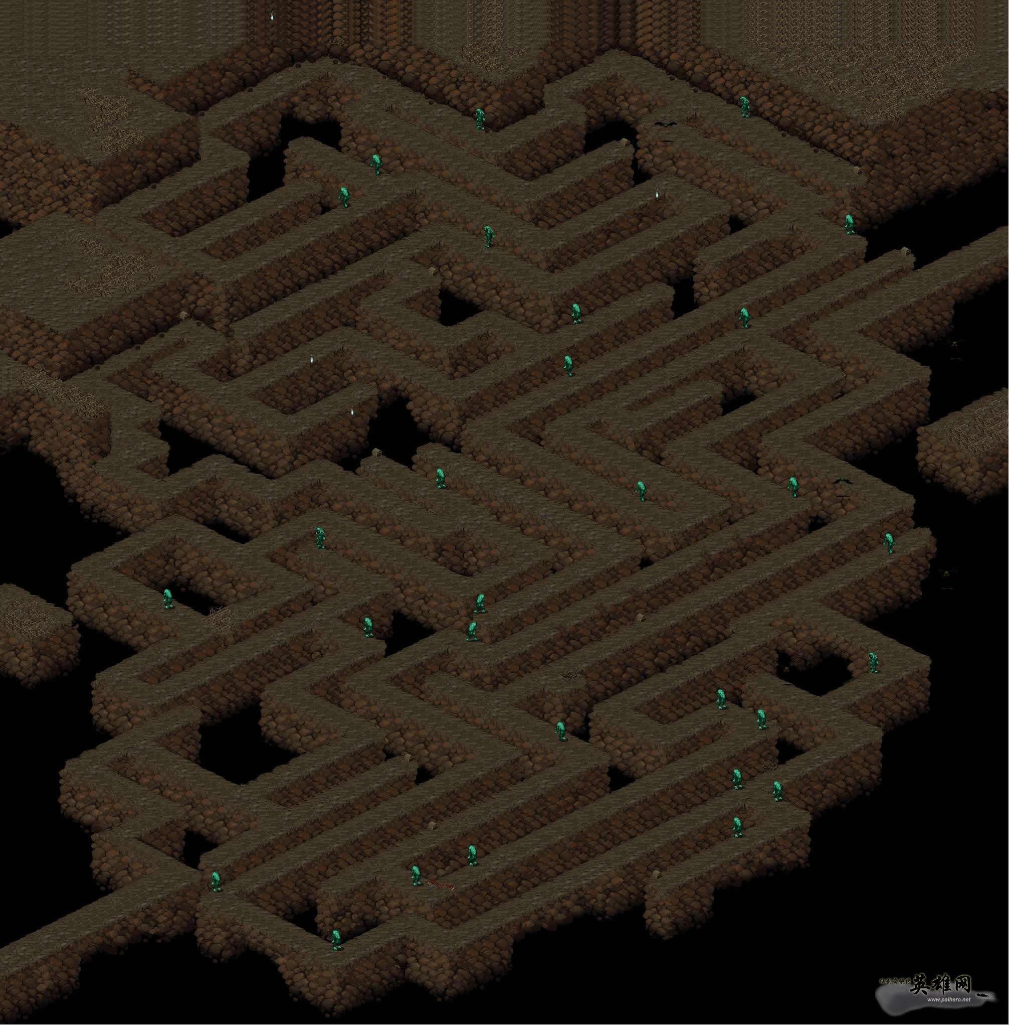情篇》迷宫地图